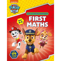 First Maths (Ages 3 to 4; PAW Patrol Early Learning Sticker Workbook) by Scholastic, 9781407192857