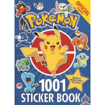 The Official Pokemon 1001 Sticker Book by Pokemon, 9781408354735