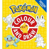 The Official Pokemon Colour and Draw by Pokemon, 9781408354766