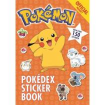 The Official Pokemon Pokedex Sticker Book by Pokemon, 9781408354773