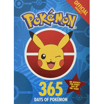 The Official Pokemon 365 Days of Pokemon: An Activity for Every Day of the Year by Pokemon, 9781408354841