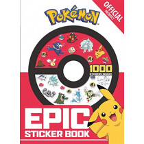 The Official Pokemon Epic Sticker Book by Pokemon, 9781408357446