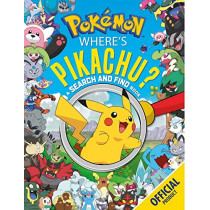 Where's Pikachu? A Search and Find Book: Official Pokemon by Pokemon, 9781408357484
