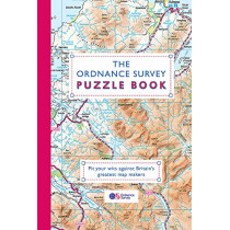 The Ordnance Survey Puzzle Book: Pit your wits against Britain's greatest map makers by Ordnance Survey, 9781409184676