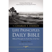 Charles F. Stanley Life Principles Daily Bible-NKJV by Charles F Stanley, 9781418550349