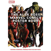 The Alex Ross Marvel Comics Poster Book by Alex Ross, 9781419753763