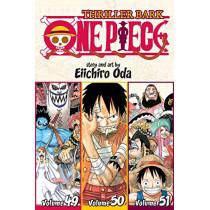 One Piece (Omnibus Edition), Vol. 17: Thriller Bark, Includes vols. 49, 50 & 51 by Eiichiro Oda, 9781421583372