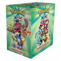 Pokemon X*Y Complete Box Set: Includes vols. 1-12 by Hidenori Kusaka, 9781421598499