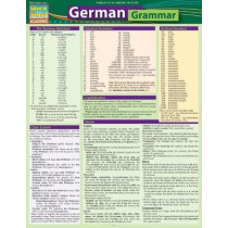 German Grammar: QuickStudy Laminated Reference Guide by BarCharts, Inc., 9781423234722