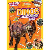 Dinos Sticker Activity Book: Over 1,000 stickers! by National Geographic Kids, 9781426334269