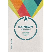 CSB Rainbow Study Bible, Hardcover by CSB Bibles by Holman, 9781433644160