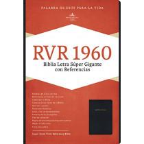 RVR 1960 Biblia Letra Super Gigante, negro imitacion piel by B&H Espanol Editorial Staff, 9781433646621