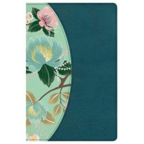 The CSB Study Bible For Women, Teal Flowers LeatherTouch by CSB Bibles by Holman CSB Bibles by Holman, 9781433651298