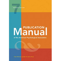 Publication Manual of the American Psychological Association by American Psychological Association, 9781433832161