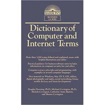 Dictionary of Computer and Internet Terms by Douglas Downing, 9781438008783