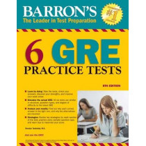 Barron's 6 GRE Practice Tests by David Freeling, 9781438011028