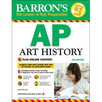 Barron's AP Art History with Online Tests by John B. Nici, 9781438011035