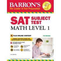 Barron's SAT Subject Test: Math Level 1 with Online Tests by Ira K. Wolf, 9781438011332