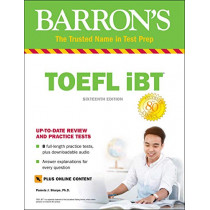 TOEFL iBT with Online Tests & Downloadable Audio by Pamela J. Sharpe, 9781438011875