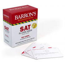 SAT Flashcards: 500 Cards to Prepare for Test Day by Sharon Weiner Green, 9781438079233
