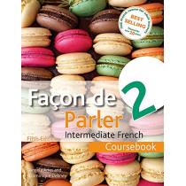 Facon de Parler 2 5ED: Coursebook, 9781444181227