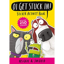 Oi Get Stuck In! Sticker Activity Book by Kes Gray, 9781444951202