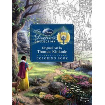 Disney Dreams Collection Thomas Kinkade Studios Coloring Book by Thomas Kinkade, 9781449483180