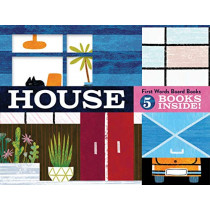 House: First Words Board Books: 5 books inside! by Michael Slack, 9781452167039