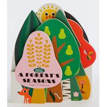 Bookscape Board Books: A Forest's Seasons by Ingela P. Arrhenius, 9781452174945