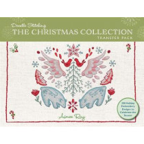 Doodle Stitching: The Christmas Collection Transfer Pack: 100 Holiday Embroidery Designs to Celebrate the Season by Aimee Ray, 9781454710790
