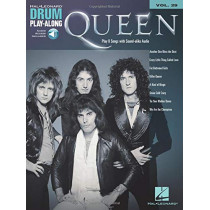 DRUM PLAY-ALONG VOLUME 29 QUEEN DRUMS BOOK & ONLINE AUDIO by Queen, 9781458404978