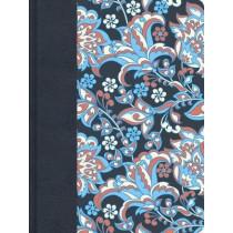 RVR 1960 Biblia de apuntes, edicion ilustrada, tela en rosado y azul, 9781462746484