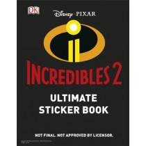 Disney Pixar The Incredibles 2 Ultimate Sticker Book by DK, 9781465466891
