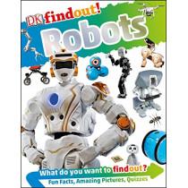 Dkfindout! Robots by Nathan Lepora, 9781465469335