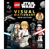 Lego Star Wars Visual Dictionary, New Edition: With Exclusive Finn Minifigure by DK, 9781465478887