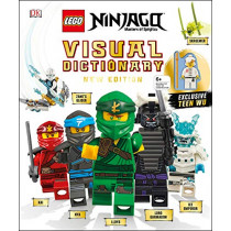 Lego Ninjago Visual Dictionary, New Edition: With Exclusive Teen Wu Minifigure by Arie Kaplan, 9781465485014