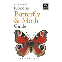 Concise Butterfly and Moth Guide by Bloomsbury, 9781472963772