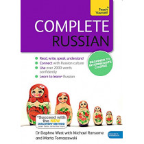 Complete Russian Beginner to Intermediate Course: (Book and audio support) by Daphne West, 9781473602519