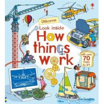 Look Inside How Things Work by Rob Lloyd Jones, 9781474936576