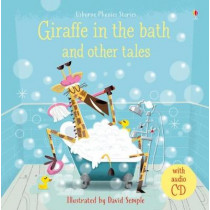 Giraffe in the Bath and Other Tales with CD by Lesley Sims, 9781474950527