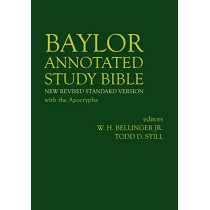 Baylor Annotated Study Bible by W. H. Bellinger, Jr., 9781481308250