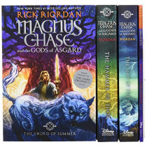 Magnus Chase and the Gods of Asgard Set by Rick Riordan, 9781484780626