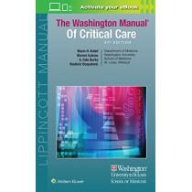 The Washington Manual of Critical Care by Marin Kollef, 9781496328519