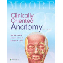 Clinically Oriented Anatomy by Keith L. Moore, 9781496354044