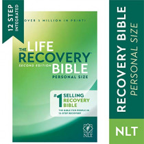 NLT Life Recovery Bible, Personal Size by Stephen Arterburn, 9781496427588