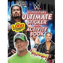 Wwe Superstars Ultimate Sticker and Activity Book by Buzzpop, 9781499810707