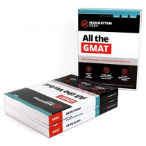 All the GMAT: Content Review + 6 Online Practice Tests + Effective Strategies to Get a 700+ Score by Manhattan Prep, 9781506219707