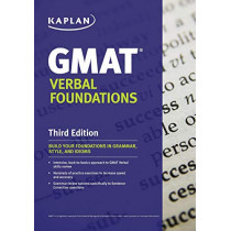 Kaplan GMAT Verbal Foundations by Kaplan, 9781506219943