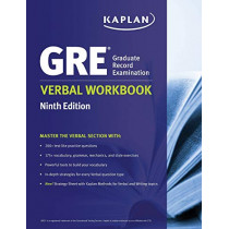 GRE Verbal Workbook by Kaplan, 9781506220109