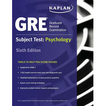 GRE Subject Test: Psychology by Kaplan, 9781506220284